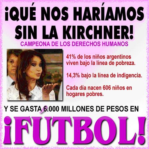 La estatización del fútbol nos costará a los argentinos, como mínimo, $600 millones anuales durante 10 años.