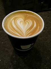 9th Street Espresso Latte (Baking with One Beater) Tags: nyc coffee manhattan latte chelseamarket