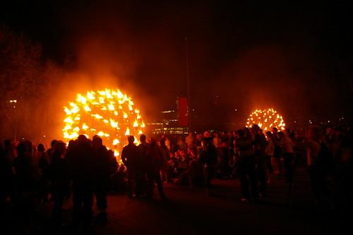 Balls of fire
