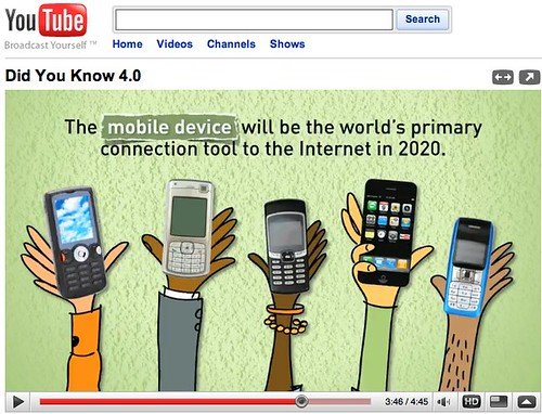 YouTube - Did You Know 4.0 - My favorite image and message