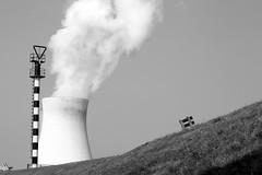 Smoking energy (wout.) Tags: canon energy belgium nuclear doel blackwhitephotos eos400d