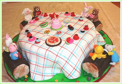 Lara's 4th birthday cake.