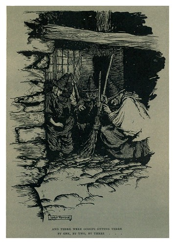 026-Las brujas retozonas-The Ingoldsby legends 1907-illustrations Rackham Arthur