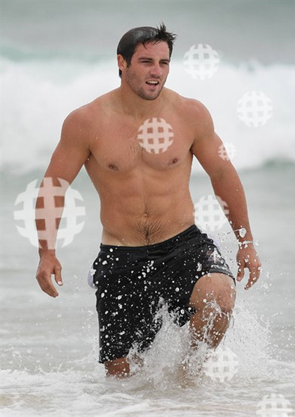 Cooper Cronk shirtless