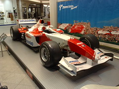 Toyota F1 car