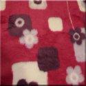 Red Floral Fur