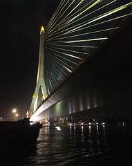 Rama VIII Bridge, Bangkok (Neil Pulling) Tags: thailand bangkok chaophrayariver ramaviiibridge