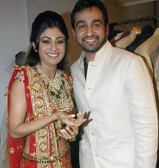 Shilpa Shetty's engagement to Raj Kundra