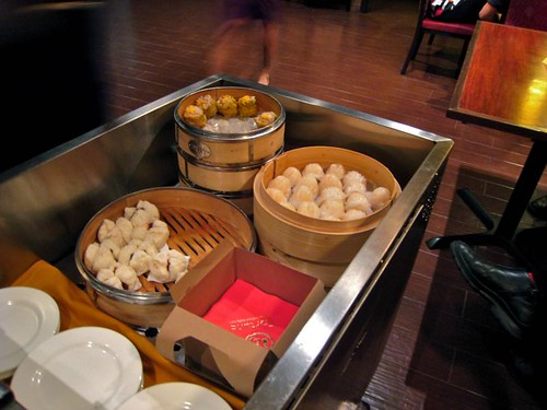 The food blogger's dim sum cart