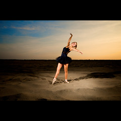 (Marcin Sowa) Tags: shadow sky ballet project dance nikon ballerina desert flash sigma explore flashlight 1020mm krakw cracow frontpage speedlight cls pw balet d300 krakoff strobist strobists sb900 danceproject ex580ii