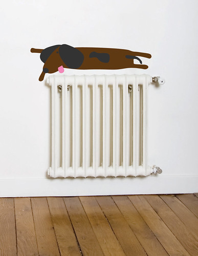 sausage dog decal
