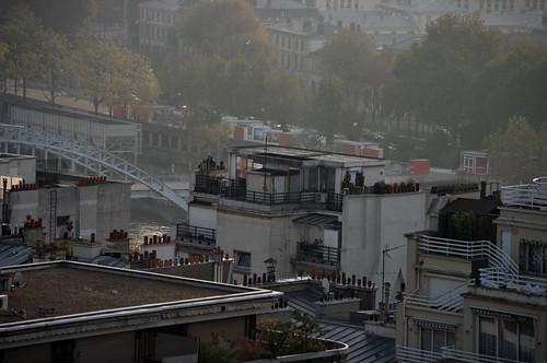 Paris, les toits vus du Trocadéro 2