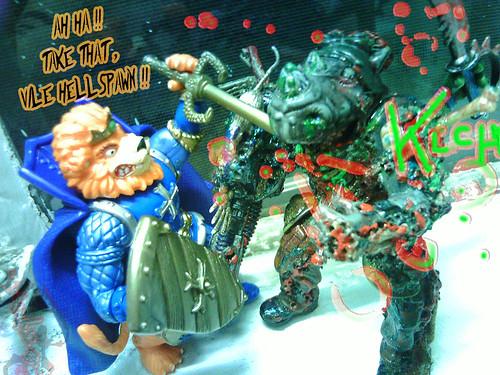 KING LIONHEART  vs. ROCKSdeadY