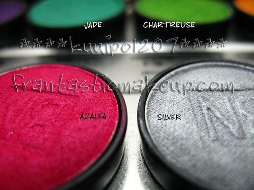 Ben Nye Lumiere eyeshadow - Azalea & Silver