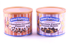 Peanut Butter & Co Chocolate Coverd Toffee and Peanuts Tins