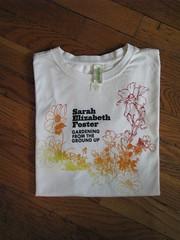 Sarah's Organic White Women's T-Shirt