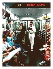 """The Next Stop Is..."" (Sion Fullana) Tags: iphone iphoneography people editedanduploadedoniphone sionfullana allrightsreserved sionfullana urbanshots urbannewyork urban streetphotography newyorklife newyorkers newyork iphoneshots iphonephotography iphoneographer characters format126app polacolor subway nysubway guyinabowtie whiteshirt whitepants whiteshoes peoplereading commuters thenextstopis ftrain sunglasses throughthelensofaniphone"