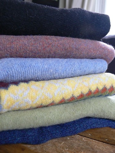 Felted sweaters 1