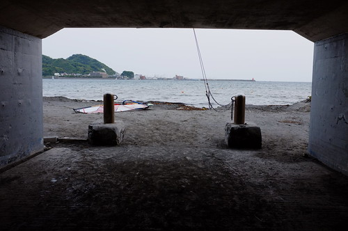 Kamakura-coast, Cloudy, Before summer