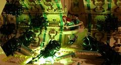 Rail (Bart De Dobbelaer) Tags: lego space hex diorama