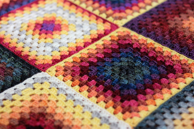 Crocheted Baby Blanket Tanis Fiber Arts
