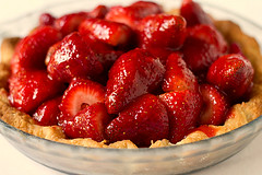 100% homemade! (Brown Eyed Baker) Tags: food pie recipe strawberries strawberrypie