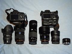 camera zeiss 35mm bag 50mm minolta f14 sony 85mm gear tokina beercan kit cz alpha f18 f28 2470mm 70210mm 1116mm