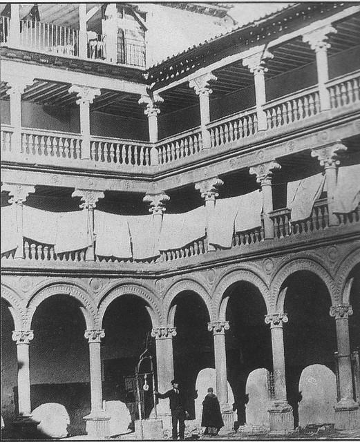 Convento de San Pedro Mártir a comienzos del siglo XX.