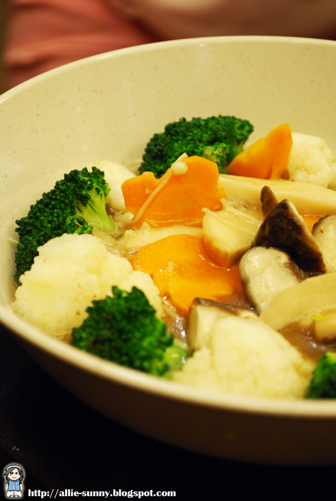 Stir Fried Mix Vege and Mushroom