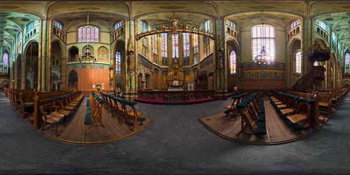 Willibrordus Church Interior by Aldo.
