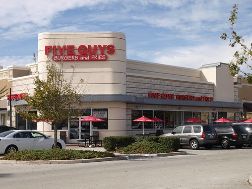 Five Guys, formerly Johnny Rockets