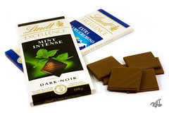 Lindt Chocolate (rjt208) Tags: lighting dark switzerland milk intense bars sweet chocolate swiss mint explore sweets extra lightbox creamy confectionary lindt anawesomeshot rjt208