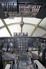 convair b-36j peacemaker cockpit (Matt Ottosen) Tags: arizona museum airplane nikon tucson space aviation air pima peacemaker b36 convair d90 pimaairspacemuseum upcoming:event=1420165