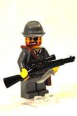 WWII German Sniper (The Ranger of Awesomeness) Tags: lego wwii german minifig panzerfaust mg42 kar98k bricarms