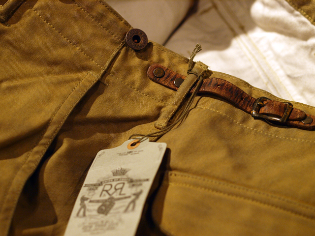 RRL / Oiled Cargo Pant