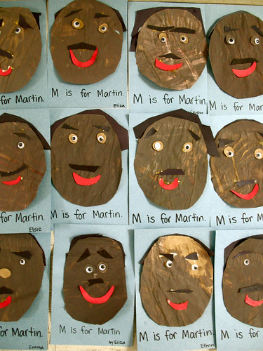 m is for martin