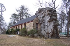Howard's Chapel (J. Stephen Conn) Tags: church rock al alabama lookoutmountain mentone dekalbcounty southernbaptist