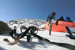 mountaint equipment (yashar_z) Tags: white mountain snow iran equipment  crampon khorasan   mashad grine  azghad   nyshabour