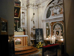 A side chapel in the Cathedral of Siracusa