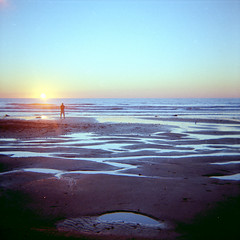 Low Tide Sunset (by Brian Auer)