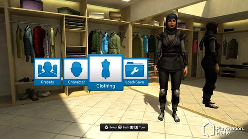 PlayStation HOME screenshot Ninja girl