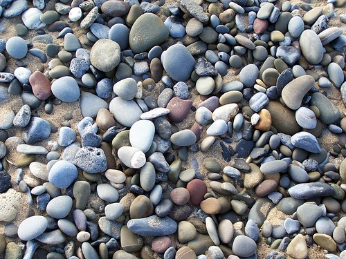 Stones at the beach in Banna
