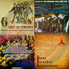 Record Sleeves: 1937_1940_1961_2006  [_re-issued Discos.Brigadas.Internacionales_] (oedipusphinx     theJWDban) Tags: barcelona democracy cd 1940 2006 cover valley record shellac discos songs abrahamlincoln 1961 1944 compactdisc 1937 spanishcivilwar discography jarama woodyguthrie grammophone brigadasinternacionales schallplatte peteseeger recordsleeves tomglazer ernstbusch jaramavalley originalstudiorecording