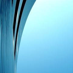 Kissed by the sun (michaelab311) Tags: blue abstract architecture curves architektur hafen dsseldorf kurven dueseldorf mywinners michaelab311 dazzledorf diamondclassphotographer multimegashot