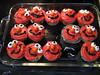 Elmo Cupcakes!
