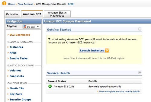 AWS Management Consoleその1