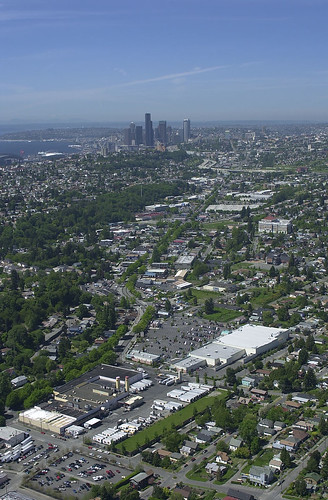 Aerial of Rainier Valley, 2001