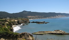 California coastline (Swanton, California, United States) Photo