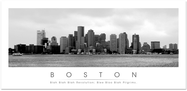 Picture of Boston Skyline
