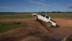 Will getting wheels off the ground in the Hilux (Ryan_Newton) Tags: 4wd loveday